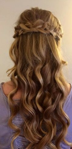 Cecilia's hair for prom