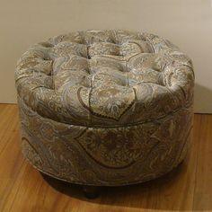 Found it at Wayfair - Round Storage Ottoman