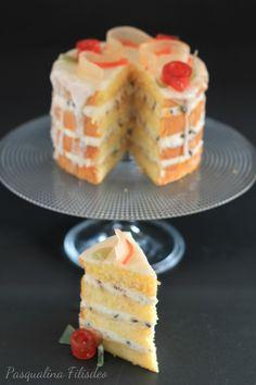 Pasqualina in cucina: Una naked cake siciliana per Sweety of Milano