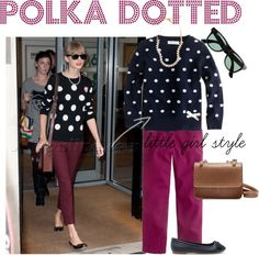 """""""Polka Dotted"""" by theredcoats on Polyvore"""