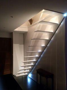 Escalier design profil par La Stylique