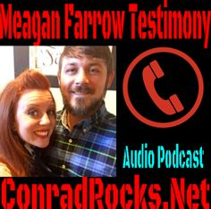 Meagan Farrow Testimony for Jesus   I asked a #QuestionsThatRock about Christians alcohol and marijuana. Meagan was very passionate about the subject and i knew there was a testimony for Jesus behind what she was saying.Christians and drugs #QuestionsThatRock ; Lost mom early age; Abuse as a child; Went to church as a child; Numbing effect of drugs; Questioning the existence of God; Step mom got delivered; Prayer and reading the word 1hr daily; The backslide; Graduating to harder drugs; The…