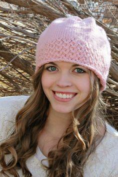 Little Miss Stitcher: Serendipity Knit Hat Free Pattern
