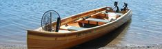 MikMaq freighter canoe plans