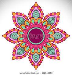 Ornament beautiful card with mandala Mandala Doodle, Mandala Art, Mandala Drawing, Mandala Painting, Dot Painting, Mandala Design, Fabric Painting, Stone Painting, Doodle Art