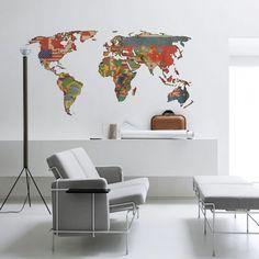 Papel de Parede Mapa Mundi Poltico  Modelos de Mapas Mundi