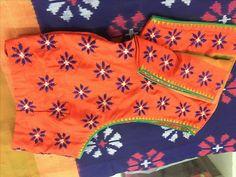 Latest Silk Saree Blouse Designs for Wedding - ArtsyCraftsyDad Saree Blouse Neck Designs, Fancy Blouse Designs, Latest Silk Sarees, Mirror Work Blouse, Hand Work Blouse Design, Blouse Models, Kutch Work, Kurti Embroidery, Embroidery Works