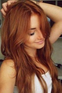 Haarfarben Trend: Kupfer …