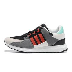 huge discount 6a402 f5458 Adidas EQT Support 93 16 Boost White Grey Red Green S79115 2018 Fashion Shoe