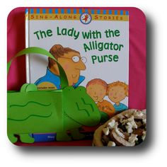 Activities to go along with The Lady with the Alligator Purse
