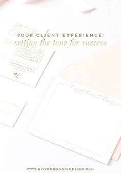 setting the tone for success within your client experience | a guide to managing client expectations for small business owners and boss ladies via b is for bonnie design