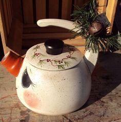 Snowman Teapot by SchoolStPrimitives on Etsy
