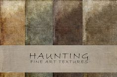 Haunting fine art textures by 2 Lil Owls Studio on Creative Market