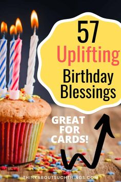 57 Inspirational Birthday Blessings [With Images] Happy Birthday Christian Quotes, Birthday Blessings Christian, Inspirational Happy Birthday Quotes, Happy Birthday Wishes Quotes, Happy Birthday Images, Birthday Sentiments, Birthday Messages, Birthday Pictures, Birthday Prayer