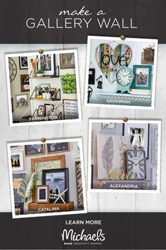 Transform your living space with a gallery wall that matches your style! Select frame and décor selections are now 50% off at Michaels. Elevate your everyday walls with up-and-coming trends like coastal chic and rustic modern or put your fashionable foot forward with new bohemian and eclectic collections.