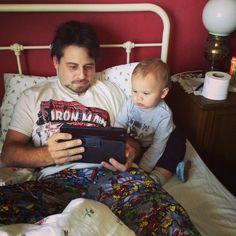 Noah & Uncle Peter have got a cold