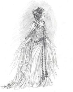 Elven princess by edarlein.deviantart.com on @deviantART
