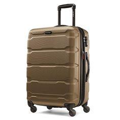 Amazon.com | Samsonite Omni PC Hardside Spinner 24, Teal, One Size | Suitcases