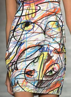 From top: Jeremy Scott, Jonathan Simkai, Julianna Bass. Textile Design, Fabric Design, Pattern Design, Fashion Prints, Fashion Art, Fashion Design, Textures Patterns, Print Patterns, Elisa Cavaletti