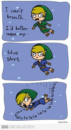 Legend of Zelda logic.