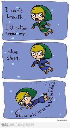 Legend of Zelda logic.