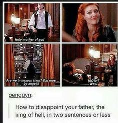 Crowley's son is nothing like him