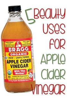 5 Simple Beauty Uses for Apple Cider Vinegar