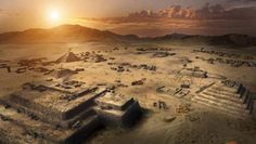 The 5,000-year-old #pyramid city of Caral
