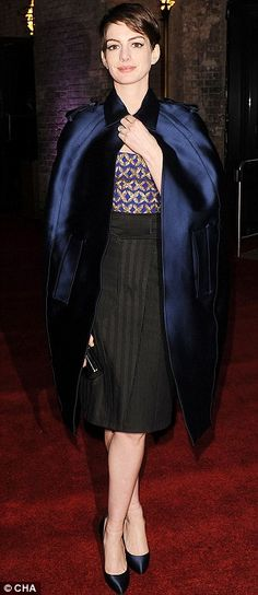 Anne at Les Miserables after party and the New York premiere last month