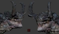 monster, Zhelong XU on ArtStation at http://www.artstation.com/artwork/monster-e4205f28-fdc9-4358-8a99-9a789d7636dc