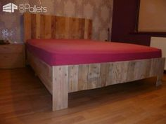 My New Pallets Bed • 1001 Pallets