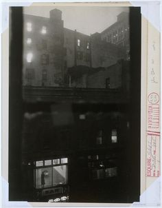 After Dark - LomographyJohn Cohen, Tenth Street at Night, 1960 via Metropolitan Museum