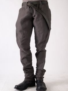 Devoa 8 Pocket Washi (Japanese Paper) Pants | scars, imperfections, and failure.