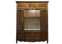 Antique French Armoire, incredible detail and carving.