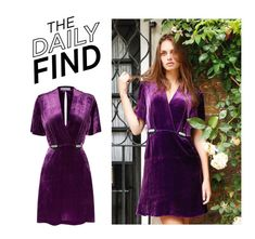 """Daily Find: Sandro Dress"" by polyvore-editorial ❤ liked on Polyvore featuring Sandro and DailyFind"