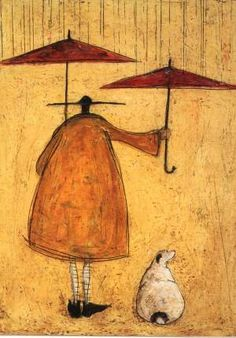 """Meet the Mustards"" by Sam Toft © 2004  ❀ ~ ◊ photo courtesy of 'the manse b+b' - st keverne, cornwall via 'cornwall online' website"
