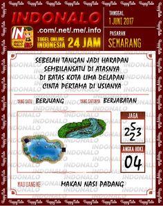 Colok JP 2D Togel Wap Online Indonalo Semarang 1 Juni 2017