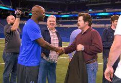 Epic... Reggie Wayne meets Ron Swanson #colts