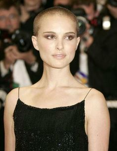 Natalie Portman shaved her head for a friend who was diagnosed with cancer. Just beautiful.