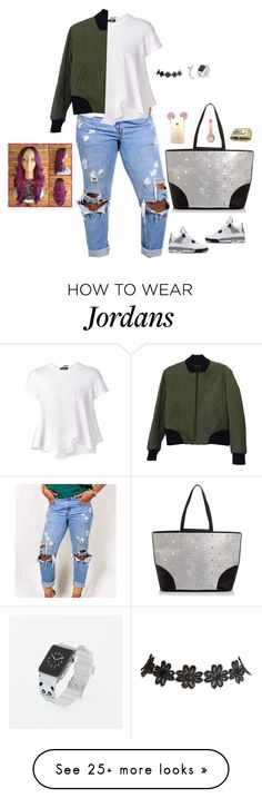 """Untitled #2963"" by bellarose99 on Polyvore featuring NIKE, Comme des Garçons, rag & bone, MCM, Wet Seal, Casetify and Beats by Dr. Dre"