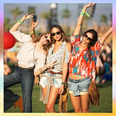 3 Outfits To Pack For Palm Springs: Festival Essentials