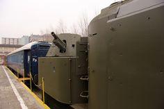 Pociąg pancerny do zwiedzania już od kwietnia
