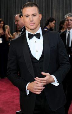Channing Tatum #Oscars2013 #RedCarpet