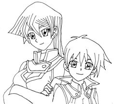 Best Yugioh 5ds Coloring Pages Free