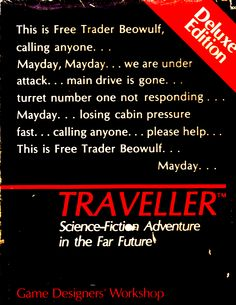 Traveller RPG ... gotta try this some day