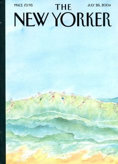 "Cover Story: ""Waves,"" by J. J. Sempé - The New Yorker"