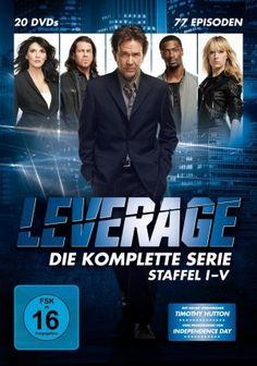 Leverage - Die komplette Serie (Staffel 1-5) 5/5 Sterne