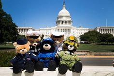 USO shares....... Check out who took a tour of the nation's capital! Our friends from Build-A-Bear Workshop! In support of our troops and their families, for every message of thanks posted on Facebook, Twitter and Instagram using #babwUSOthanks, Build-A-Bear will donate $1 to the USO! http://blog.uso.org/2014/06/09/free-from-hibernation-build-a-bears-excited-about-visit-to-u-s-capitol/