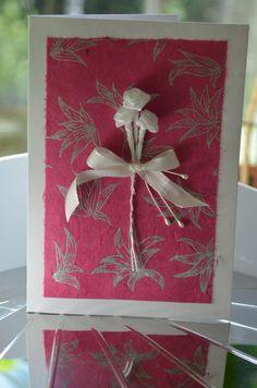 Card for many occasions Valentine's day Wedding Birthday Baby girl Baby shower Mothersday Anniversary Graduation / Kortti eri tilaisuuksiin