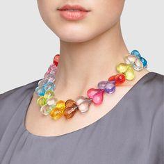Swedish Love Story Necklace. Playful & endearing wedding necklace.